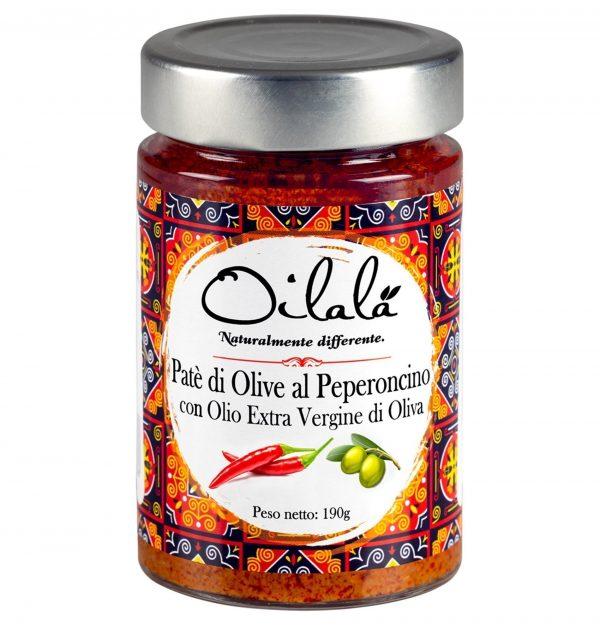 patè di olive e peperoncino