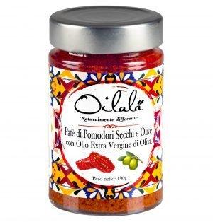 patè di olive e pomodori secchi
