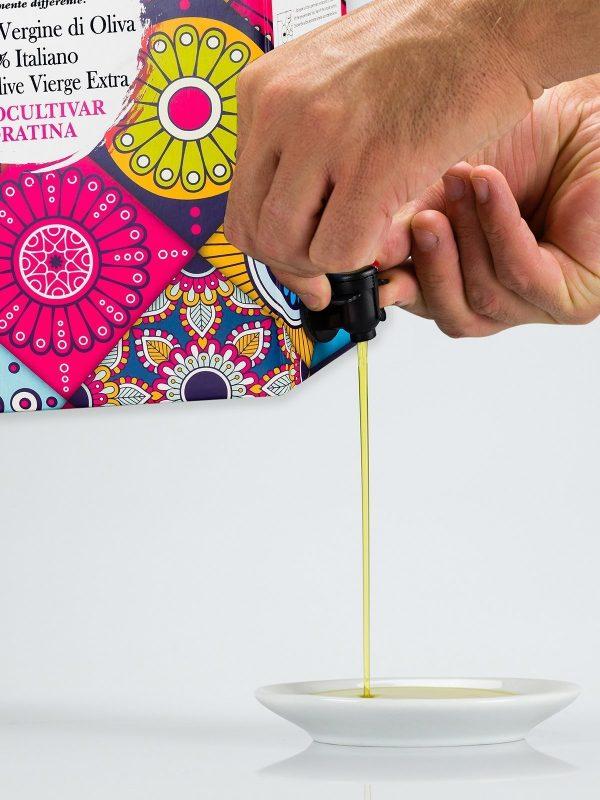 bag in box olio extravergine di oliva coratina